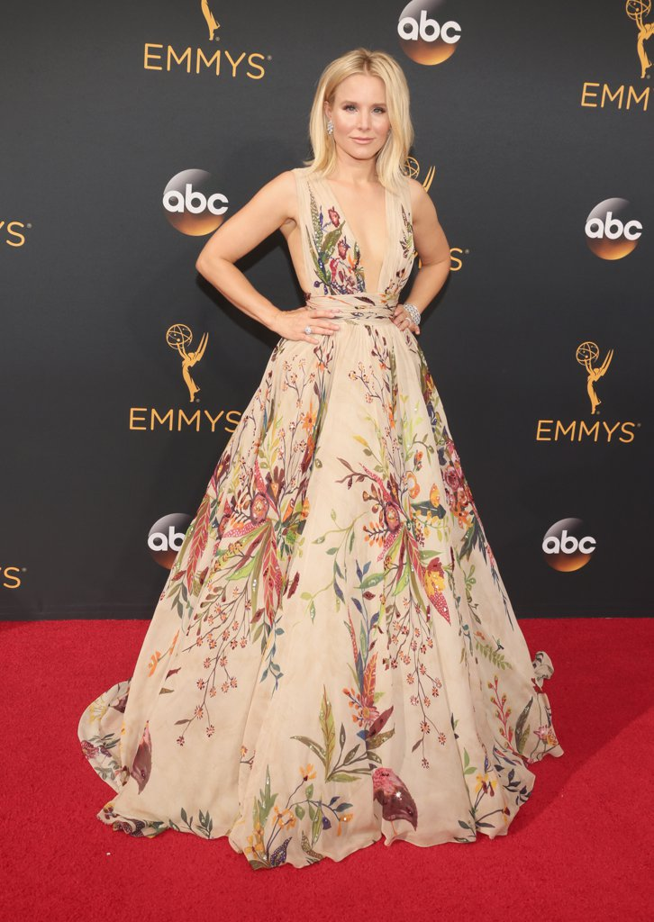 Kristen Bell Nip Lift Instagram From Emmys 2016